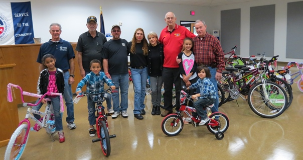 Bikes Plus Allen Texas Treasurer Dan Allen helped