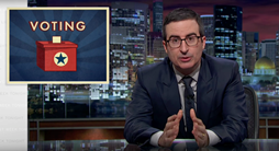 Television host John Oliver totally dismantled the arguments for regressive voter ID laws.