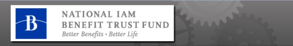 Click to visit the National IAM Benefit Trust Fund