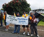 MUNZ Members in the Port of Auckland
