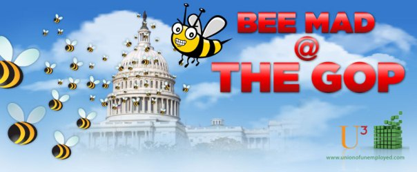 Bee Mad @ the GOP. Click here to visit UCubed's Facebook page.