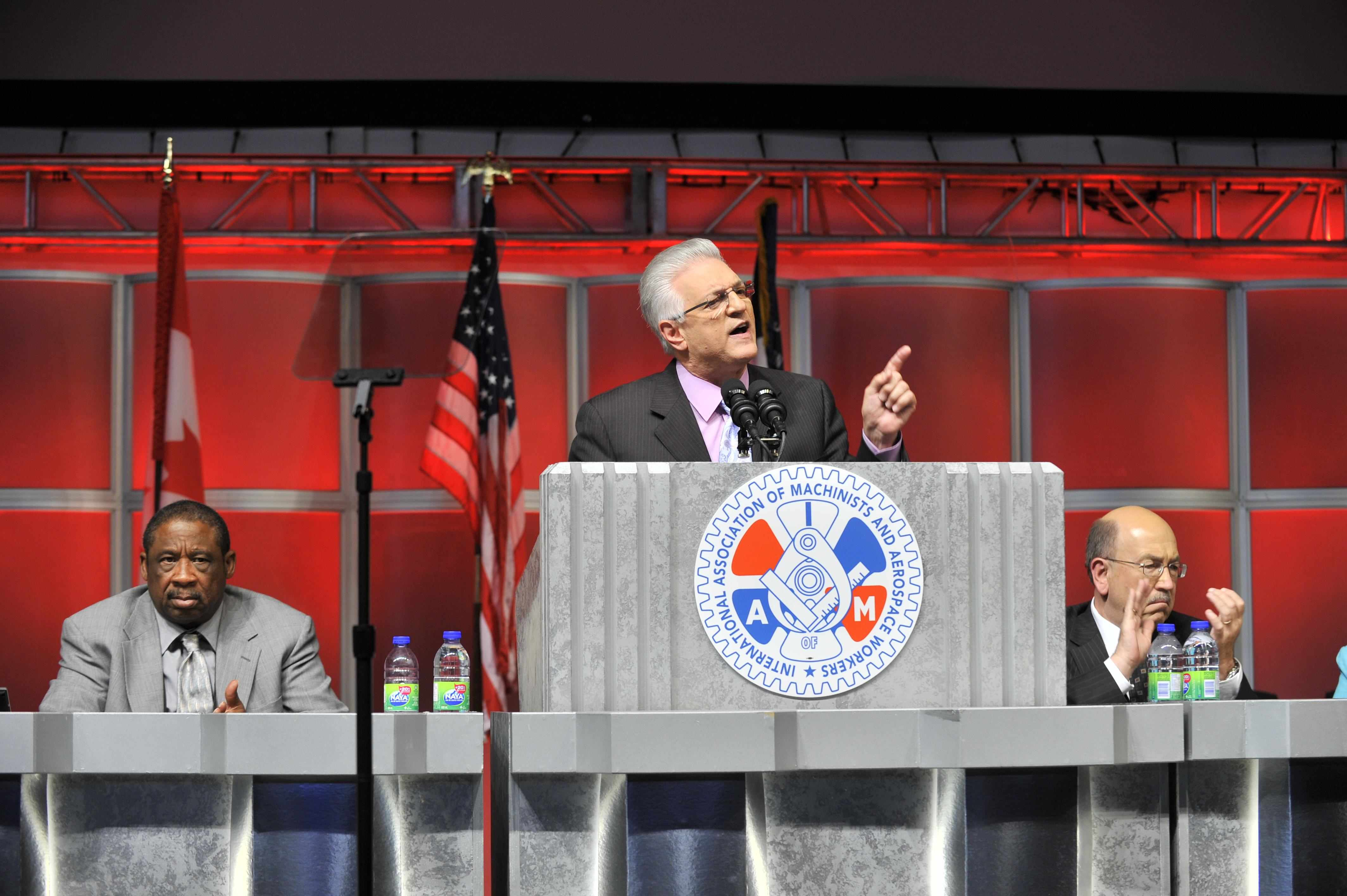 Scardelletti Addresses IAM Convention