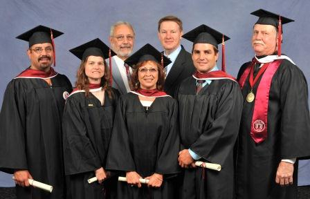 More than 90 IAM members have earned college degrees through the IAM's partnership program with the National Labor College (pictured above the 2012 graduating class).