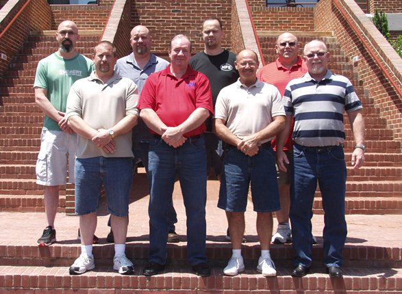 Members of IAM Local Lodge 660 attended class at the William W. Winpisinger Center to prepare for upcoming negotiations with Global Brass and Copper.