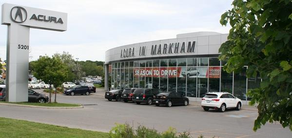 Markham Acura in Toronto