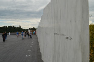The Flight 93 National Memorial in Shanksville, PA.