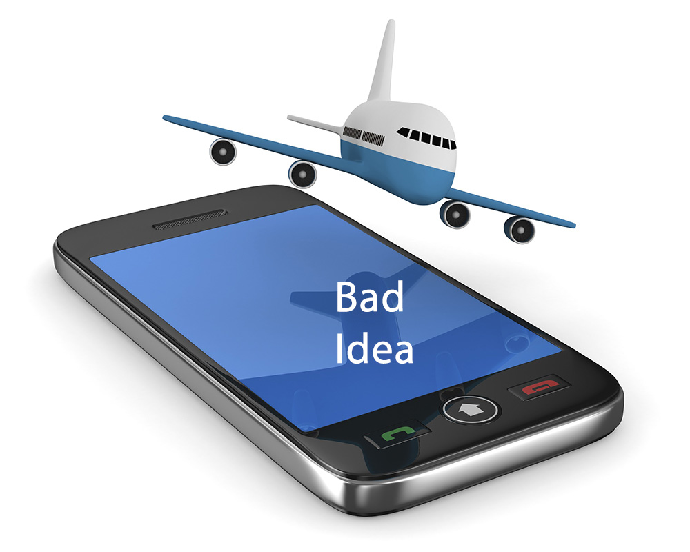 Cell Phone Aircraft