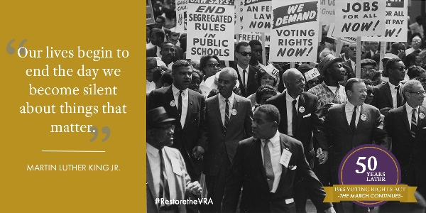 Voting Rights Act Turns 50 Now We Have To Defend It IAMAW