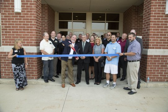 IAM Midwest Territory ribbon cutting