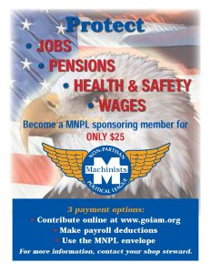 Protect JOBS - PENSIONS - HEALTH & SAFETY - WAGES