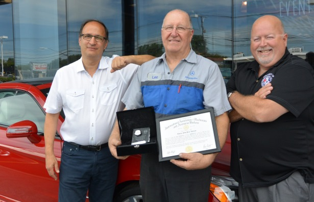 Longtime IAM Mechanic Gets Special Send Off