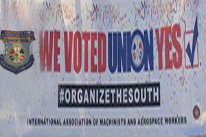 Working People Saying 'IAM Yes' in Supposedly Union-Unfriendly South