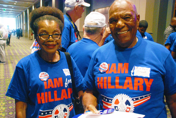 IAM Members Making a Difference in 2016 Election