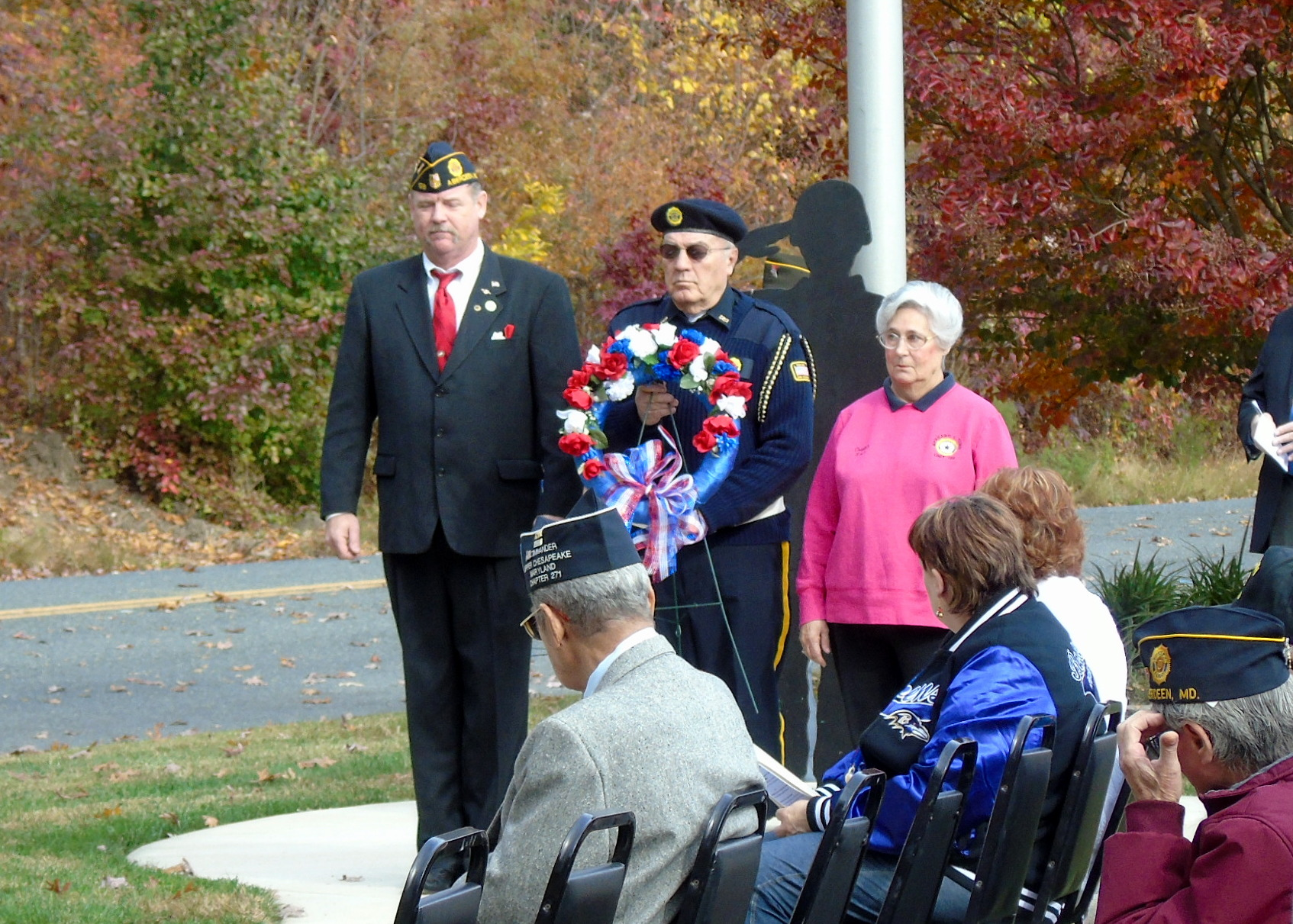 Maryland Veterans Participate in Veterans Day Ceremony