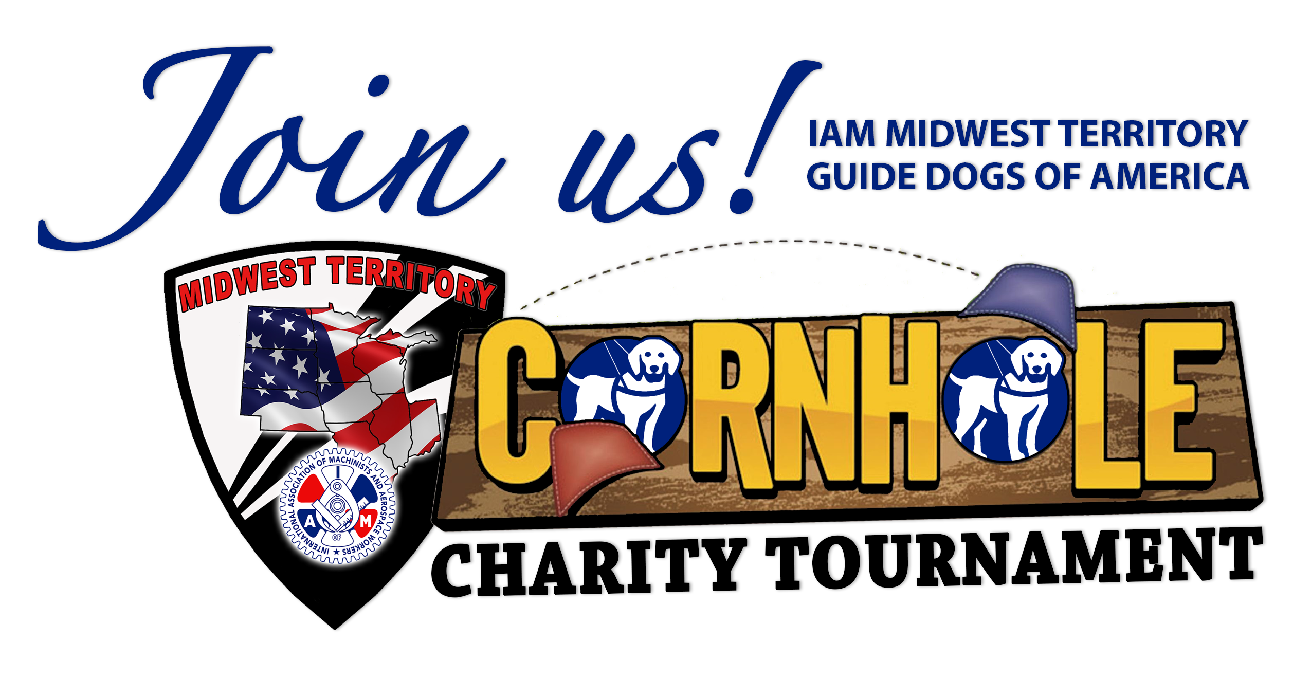 Register Now for the IAM Midwest Territory GDA Cornhole Charity Tournament