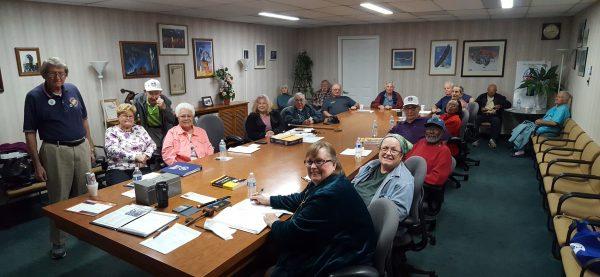 Western Territory William L Curtis Retirees Club San Diego Honors Veteran Members