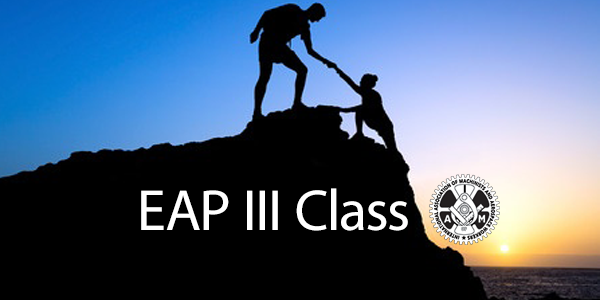 Deadline to Register for EAP III Approaching