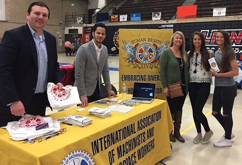 IAM CREST Promotes Apprenticeships at American Indian Expo