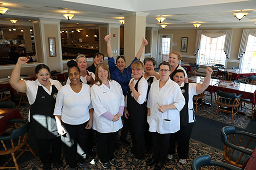 Gold Star Recognition for Winpisinger Center Kitchen Staff