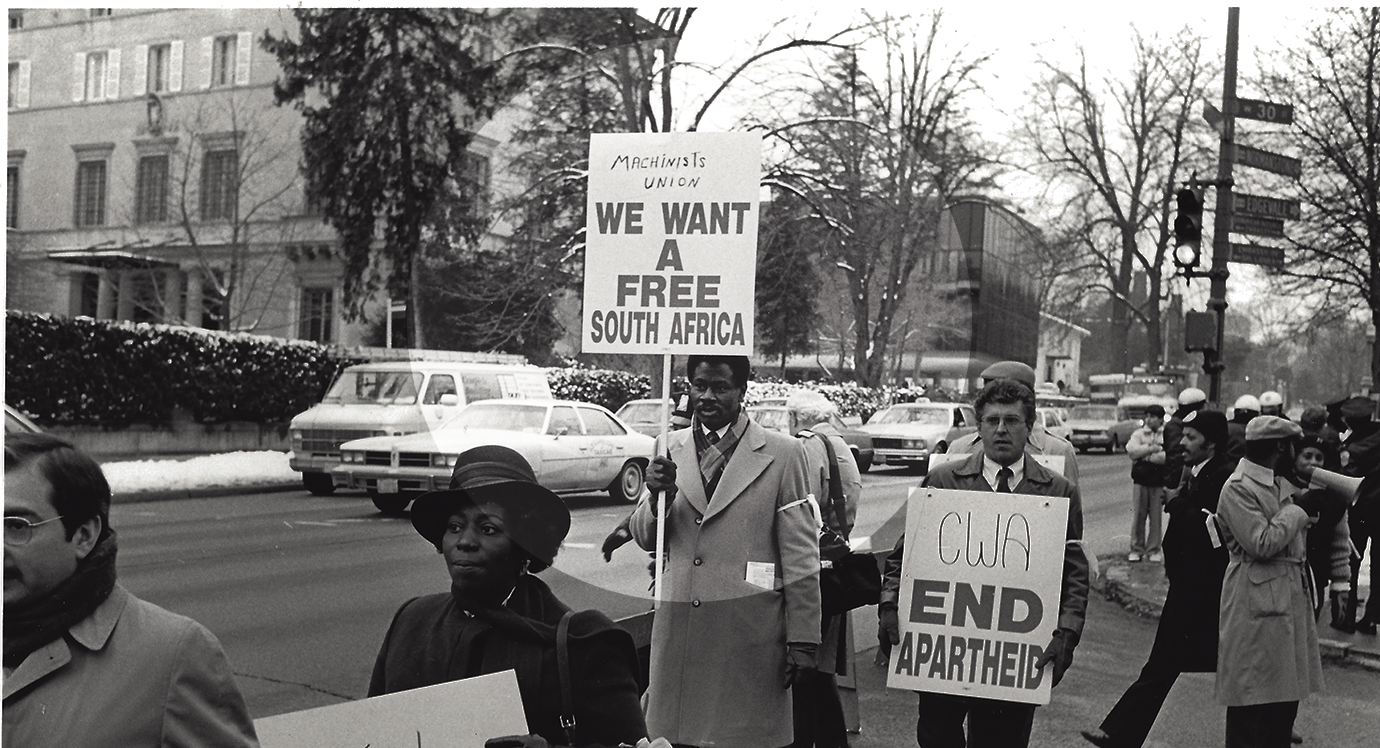 Freedom Day: How the Machinists Union Stood with South Africans to Overcome Apartheid