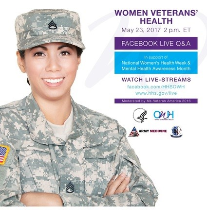 Ask the Experts! Facebook Live Q&A on Women Veterans' Health