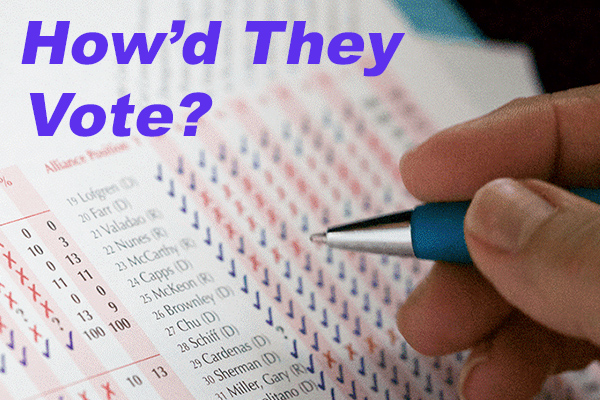 How'd They Vote? ARA Publishes Congressional Voting Record