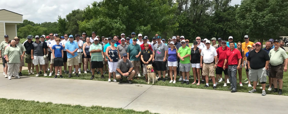 Wichita Local 774 Hits the Links for Guide Dogs