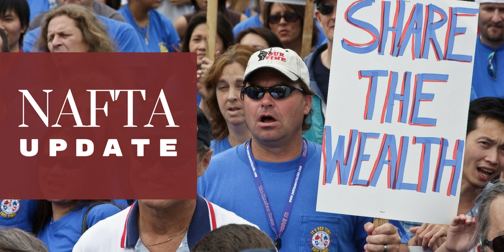 Machinists: Put Working People First or Walk Away from NAFTA