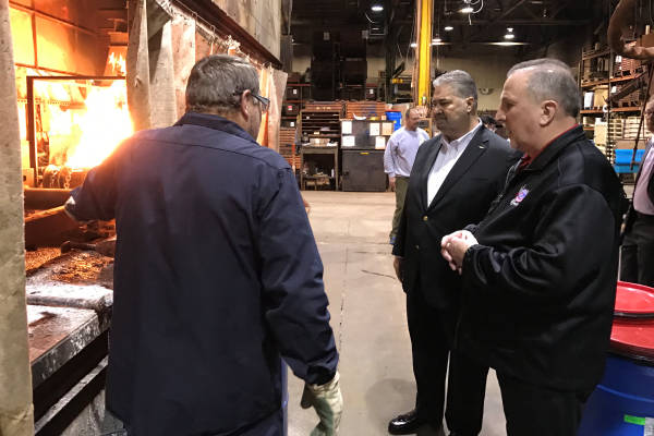 Martinez, Gruber Celebrate 100 Year Anniversary at Minnesota Chain-Maker
