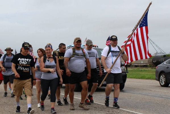 Texas Members March for True Meaning of Memorial Day