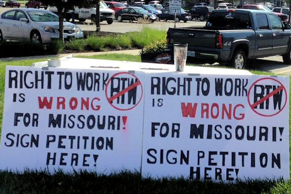 Hitting the Street for Working People in Missouri