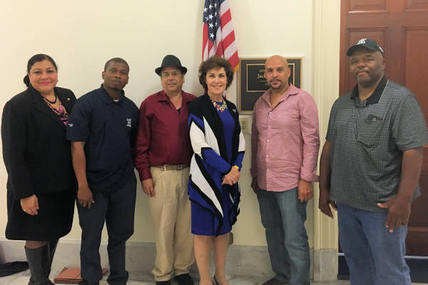IAM Members Hit the Hill to Protect Sugar Industry