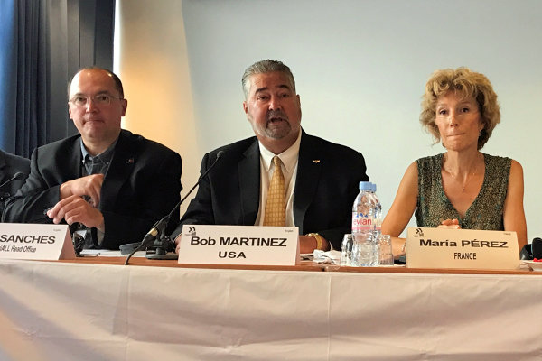 Martinez Calls on Aerospace Workers to Unite Globally