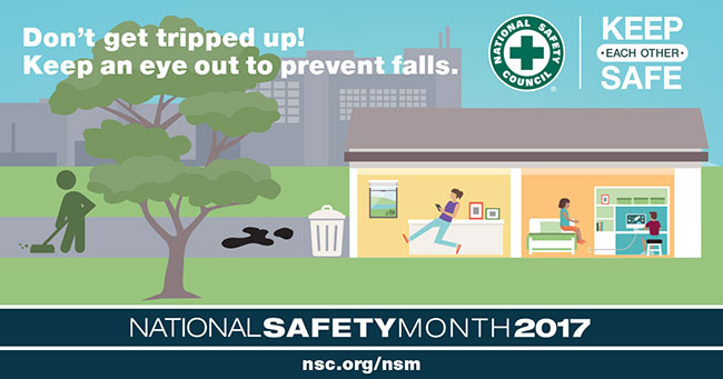 National Safety Month 2017