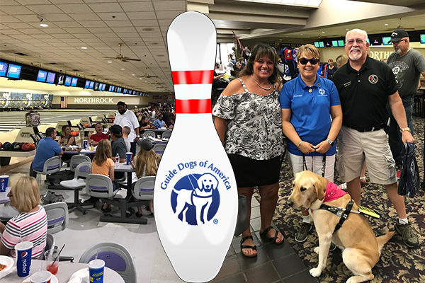 Wichita District 70 Rolls a '300' for Guide Dogs of America