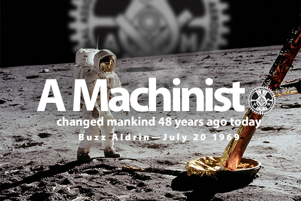 Forty-Eight Years Ago, a Machinist Took One Giant Leap