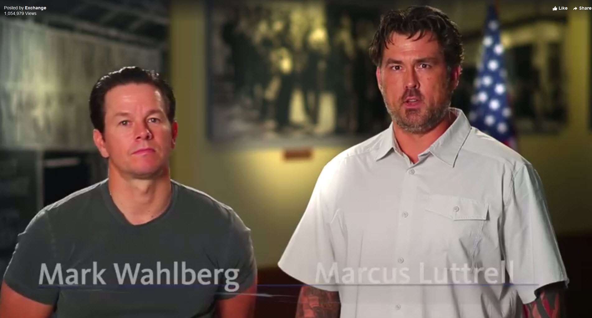 AAFES to Open Online Exchange Benefits in November: 'Lone Survivor' Duo Wants You to Enroll
