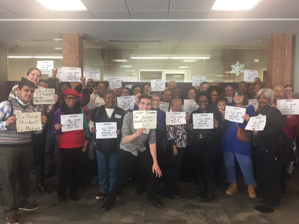 Chicago Metro Chapter Joins Youth Activists in Intergenerational Alliance