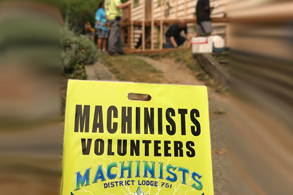 Machinists Members Continue to Give Back