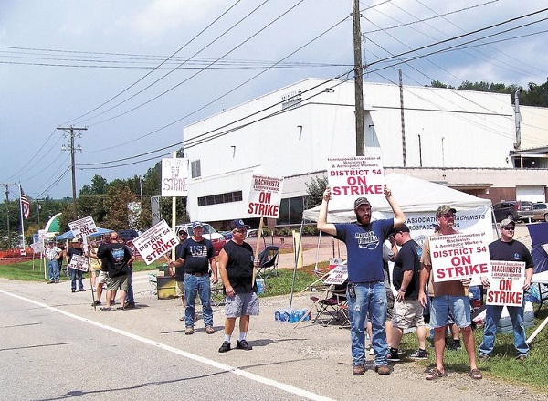Ohio Members Strike for Fair Contract