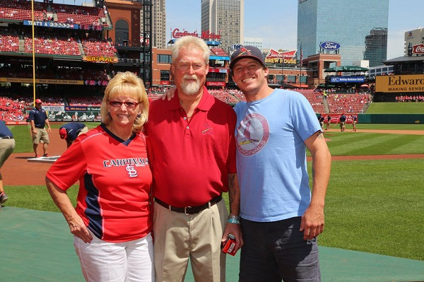St. Louis Member Throws Out First Pitch for Labor