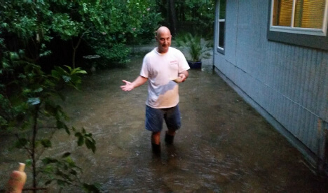 Rather than simply ride out the storm, volunteers like Steve Dovi helped rescue their neighbors.