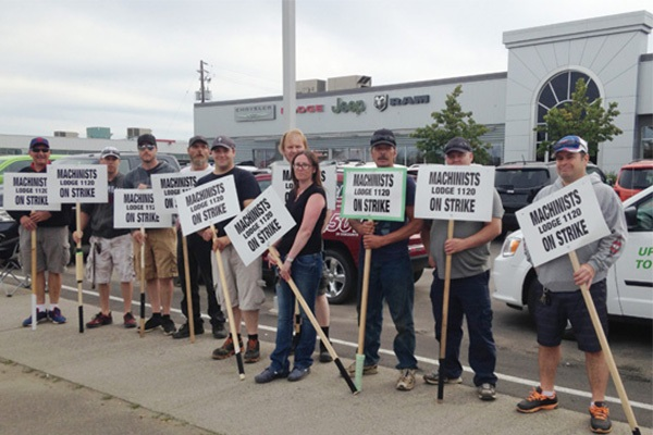 Ontario IAM Automotive Members Strike for Fairness