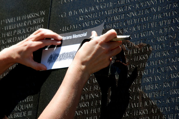 Volunteers sought for reading of the names at the Vietnam Veterans Memorial