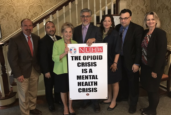Healthcare Workers, IAM Visit DC to Address the Opioid, Mental Health Crisis
