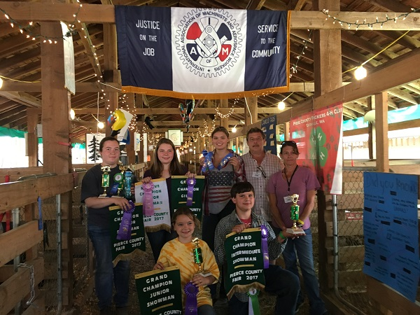 Washington State Local 289 Sponsors 4-H Youth
