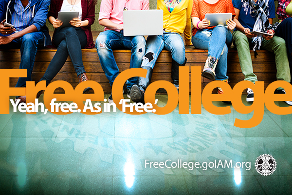 IAM Members are Taking Advantage of Free College Benefit