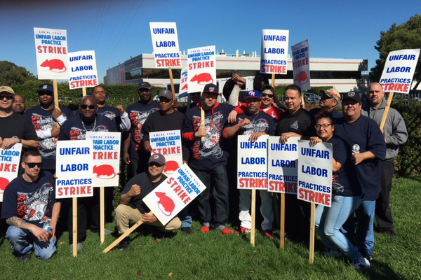 California Members Strike for Workplace Safety, Justice and Respect