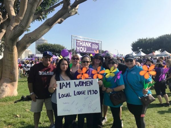 LL 1930 Women's Committee Walks to End Alzheimer's