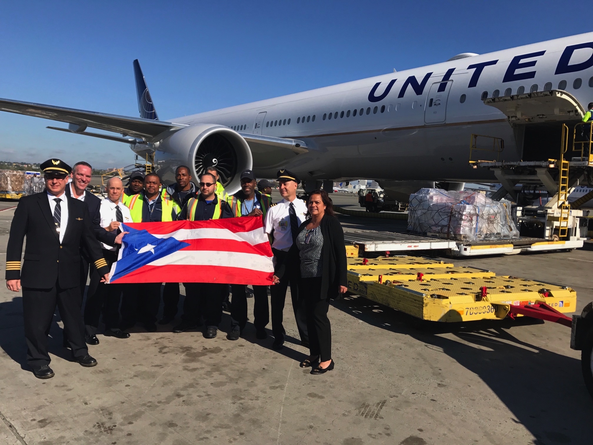 Machinists Union Members Travel to Puerto Rico for Hurricane Maria's Relief Efforts